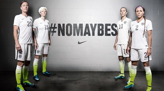 US Soccer Goes Classic White and Black for 2015 Nike Home Jersey