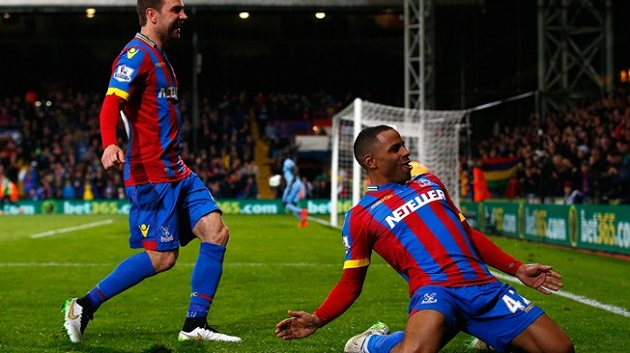 Jason Puncheon scores for Crystal Palace