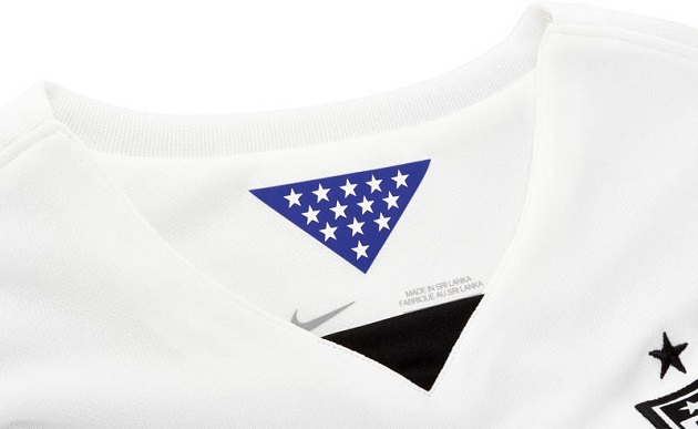 Nike USA Home Jersey collar