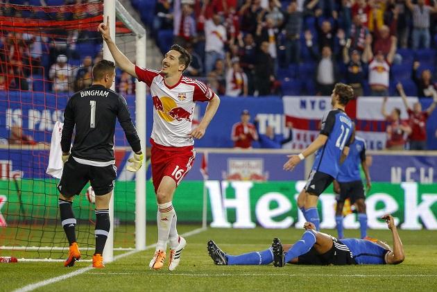 Red Bulls Kljestan scores