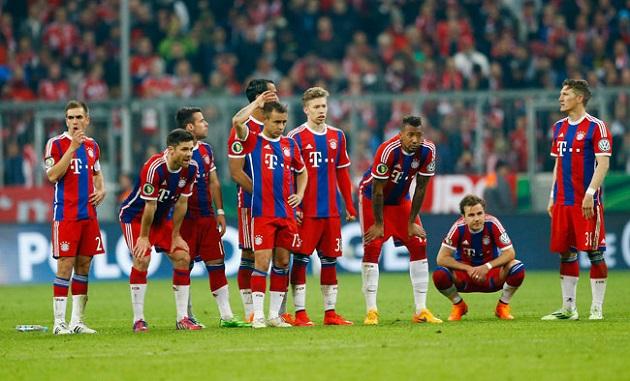 Bayern lose to Dortmund in DFB-Pokal
