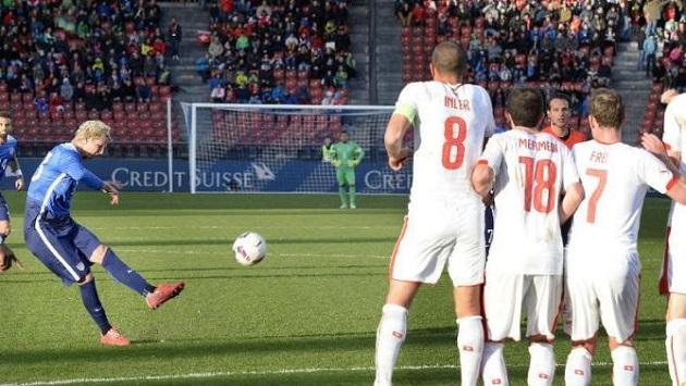 Brek Shea goal vs. Swiss