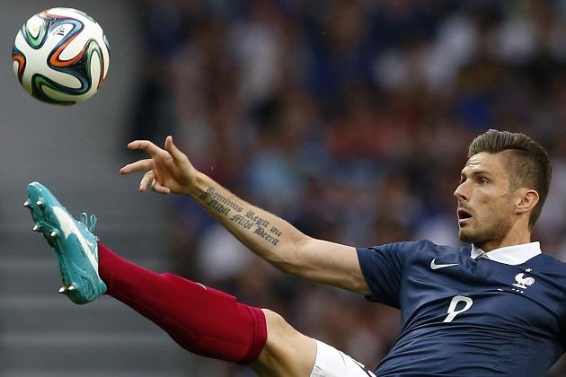 France's Olivier Giroud