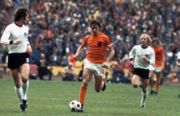 Johan Cruyff for Netherlands