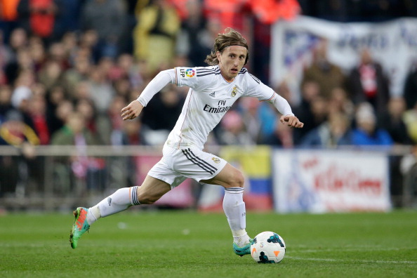 Luka Modric of Real Madrid