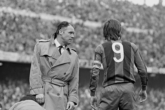 Rinus Michels, Barcelona coach