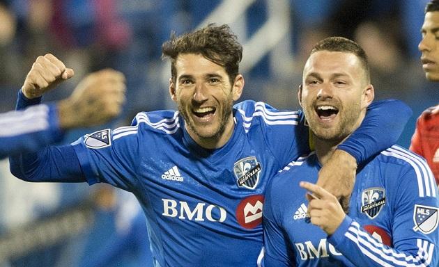 Montreal FC celebrate