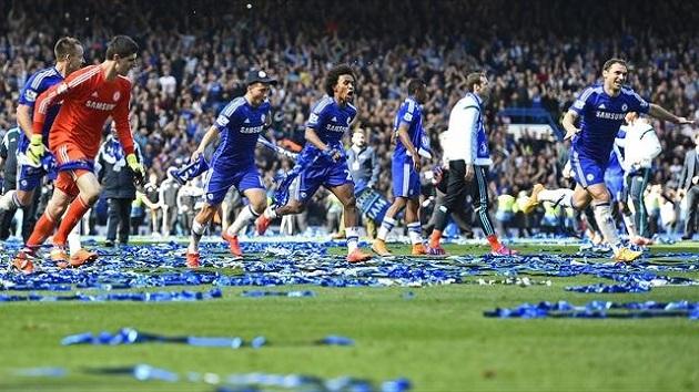 Chelsea win 2015 EPL title