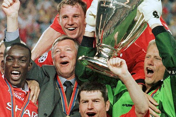 Sir Alex Ferguson with 99 United