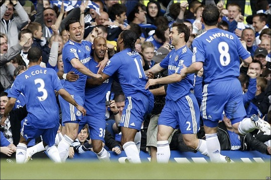 Chelsea, 2009-10 league champs