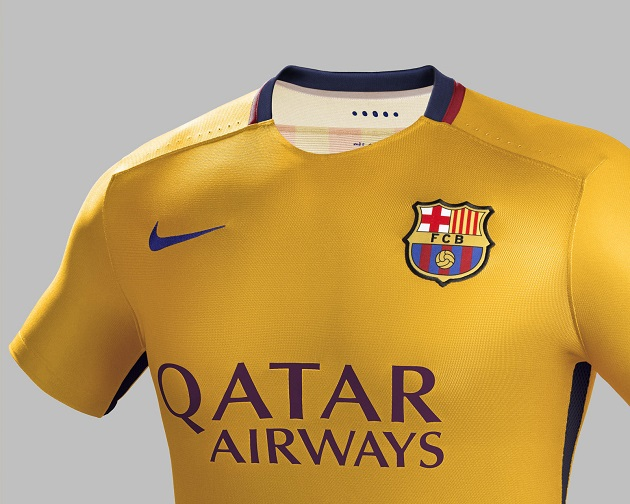 wholesale dealer e742d 8cb26 Nike Drops Barcelona 2015-16 Home and Away Jerseys - The ...