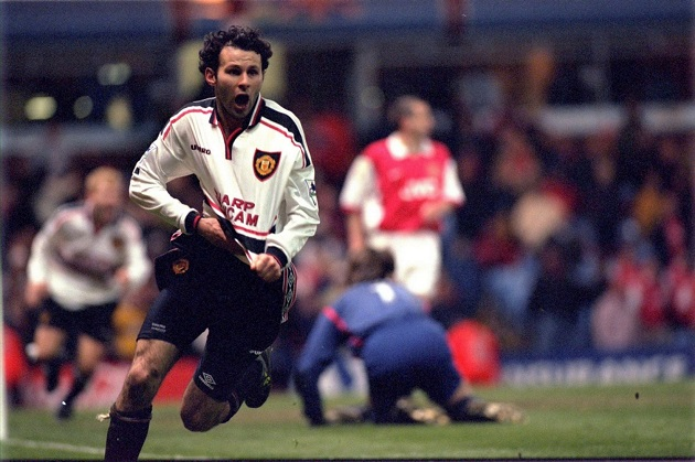 Giggs scores in 99 FA Cup