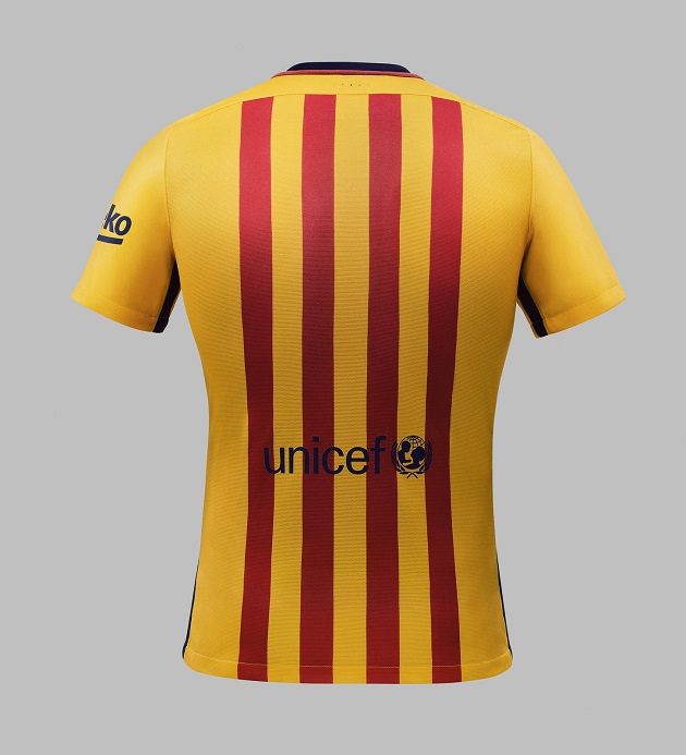 wholesale dealer 43a0f 58539 Nike Drops Barcelona 2015-16 Home and Away Jerseys - The ...