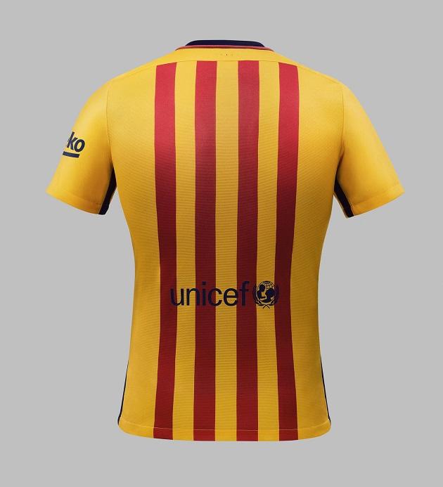 Barcelona Away Jersey 2015