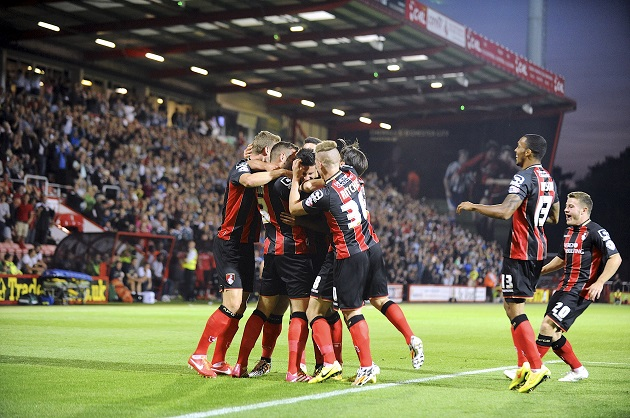 Bournemouth win Championship
