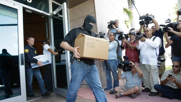 FIFA raid