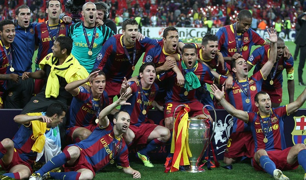 Barcelona win Champions League