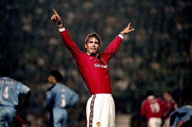David Beckham on 1999 Man United