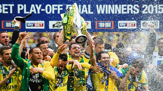 Norwich wins 2015 Premier League promotion
