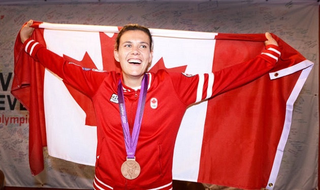 Canadian Christine Sinclair