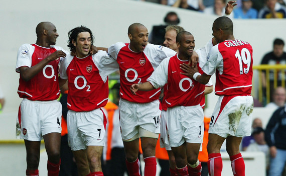 History's Greatest Teams: The 2003-04 Arsenal Invincibles