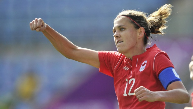 On the Spot: Christine Sinclair