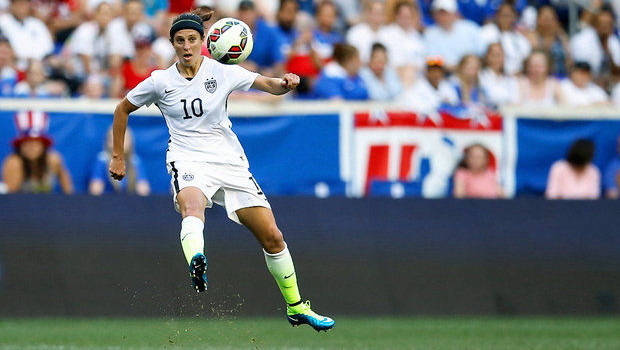 On the Spot: Carli Lloyd