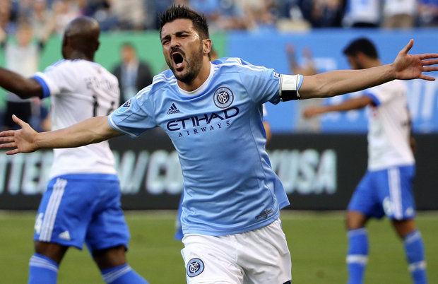 NYCFC's Villa scores