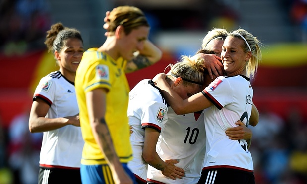 Germany-Sweden, 2015 Women's World Cup