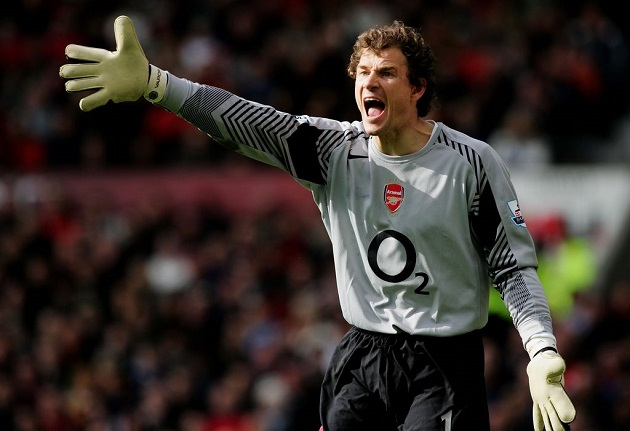 Arsenal's Lehmann, 2004