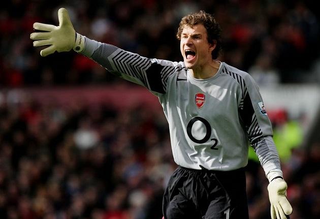 Arsenal's Lehmann, 2004