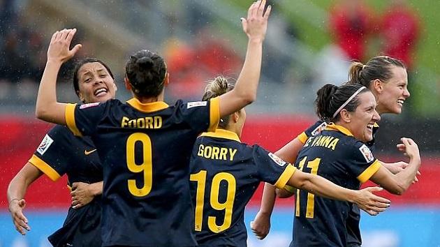 Australia, 2015 Women's World Cup