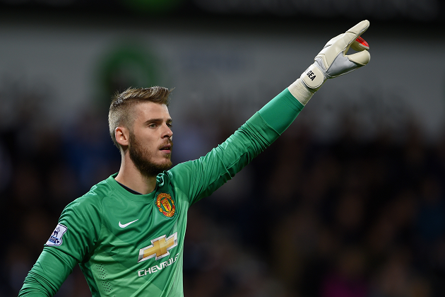 David de Gea, United keeper