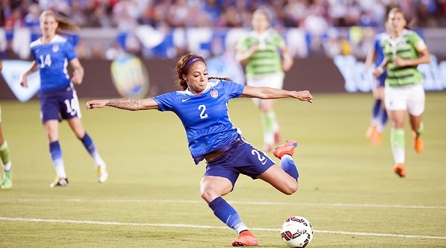 On the Spot: Sydney Leroux