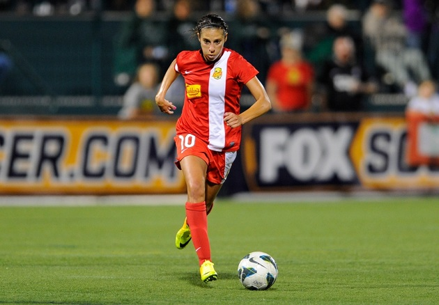 Carli Lloyd in NWSL