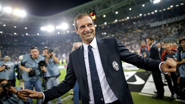 Juventus coach, Allegri