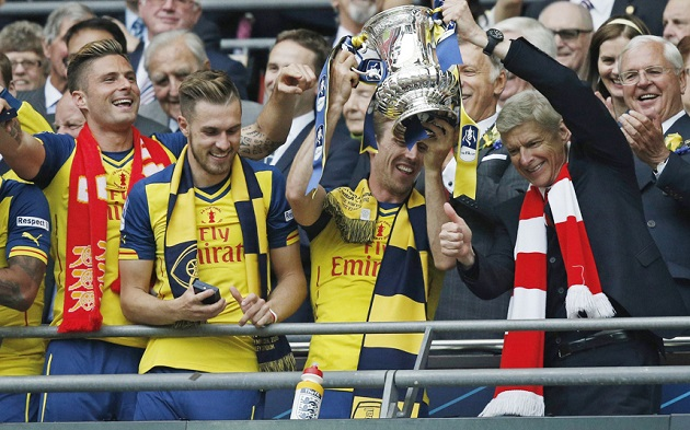 Arsenal win 2015 FA Cup