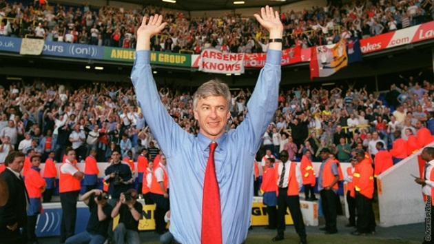 Arsene Wenger and 2004 Invincibles