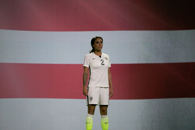 Sydney Leroux in US Home Jersey 2015