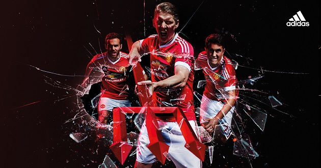 adidas Man United home jersey launch