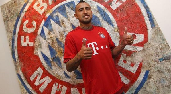 Bayern signs Arturo Vidal