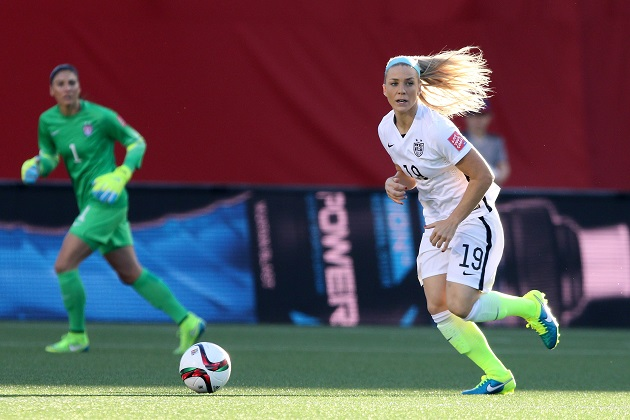 US defender Julie Johnston