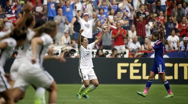In Absurd World Cup Final, '15ers Explode on Offense