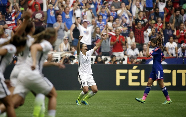Carli Lloyd wins 2015 World Cup