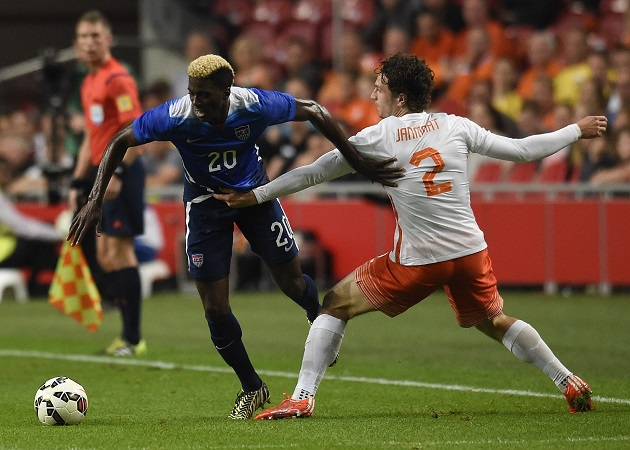 Zardes with USA