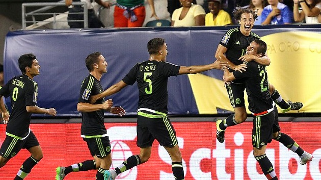 Mexico wins Gold Cup Final
