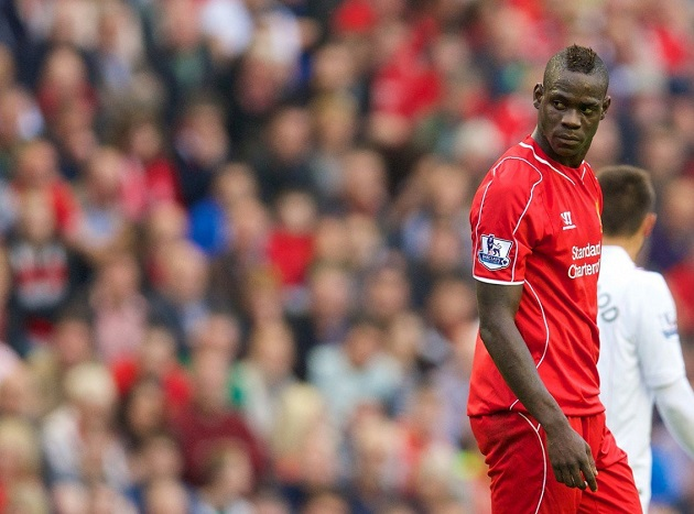 Balotelli loaned from Liverpool