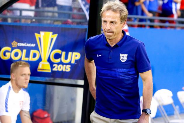 Klinsmann at 2015 Gold Cup