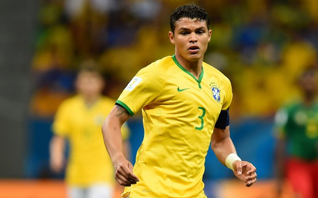 Brazil defender Thiago Silva