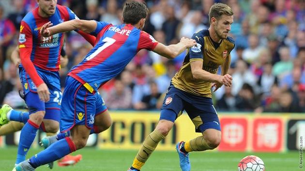 Arsenal mid Ramsey